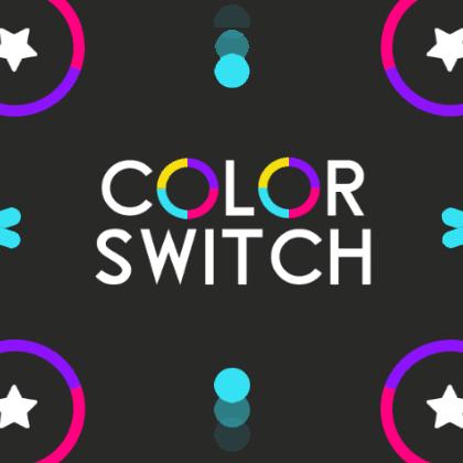 لعبة تبديل الالوان Color Switch