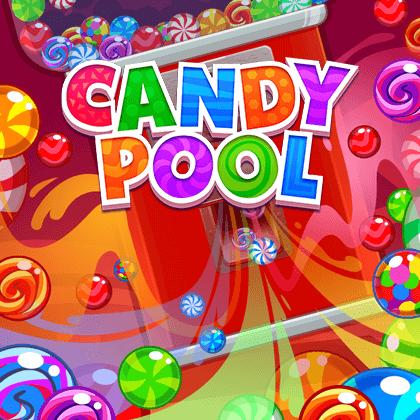 لعبة حمام سباحة الحلوي Candy Pool