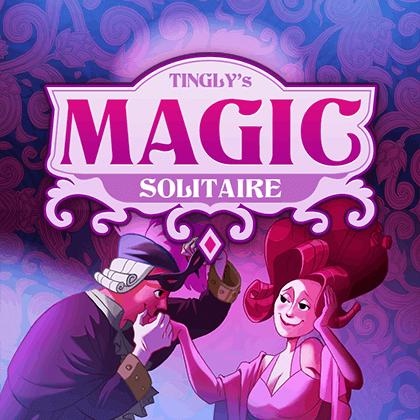 لعبة تانجليز ماجيك سوليتير Tingly's Magic Solitaire